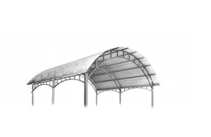 Навесы для машины из поликарбоната